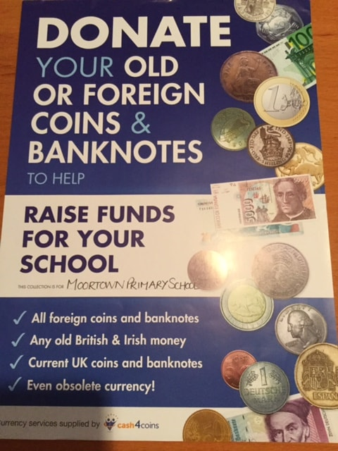 Donate Foreign Coins